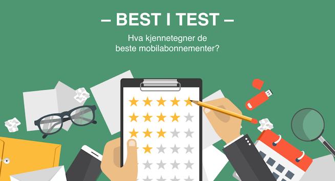 best i test mobilabonnement